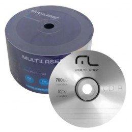 CD-R Virgem 700MB 52X...